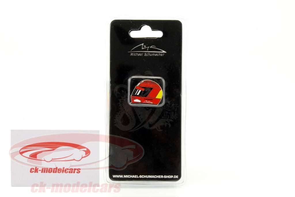 Michael Schumacher helmet Pin 3rd Time World champion formula 1 2000