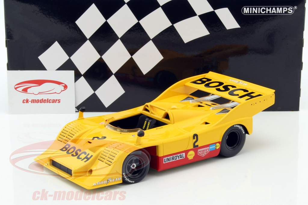 Porsche 917/10 #2 ganador Eifelrennen Nürburgring Interserie 1973 Kauhsen 1:18 Minichamps