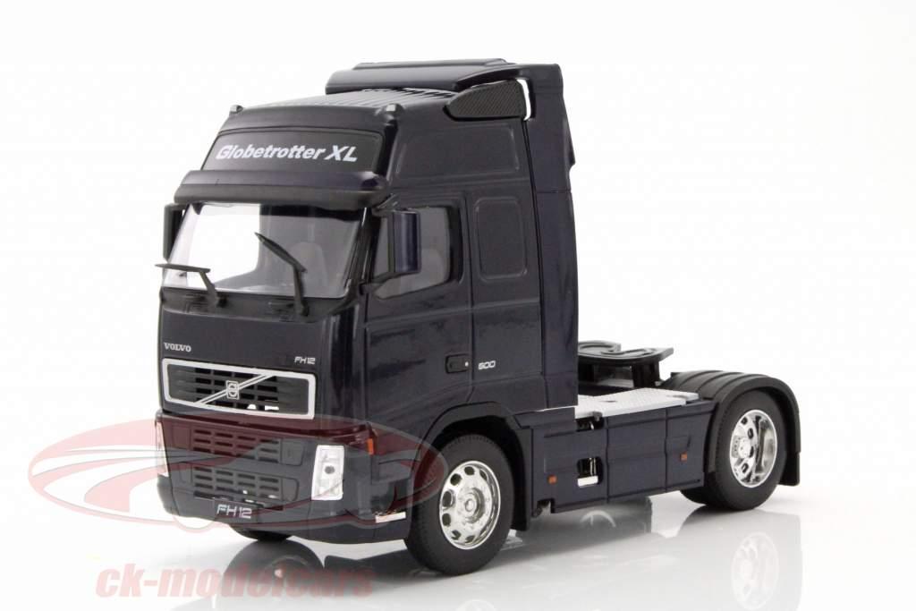 Volvo FH12 Globetrotter XL mørkeblå 1:32 Welly