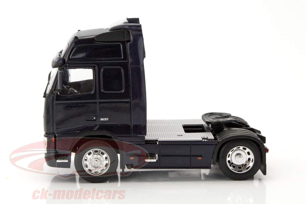 Volvo FH12 Globetrotter XL donkerblauw 1:32 Welly