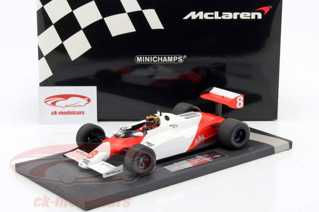 Stefan Bellof McLaren Ford MP4/1C #8 test Silverstone GP F1 1983 1:18 Minichamps