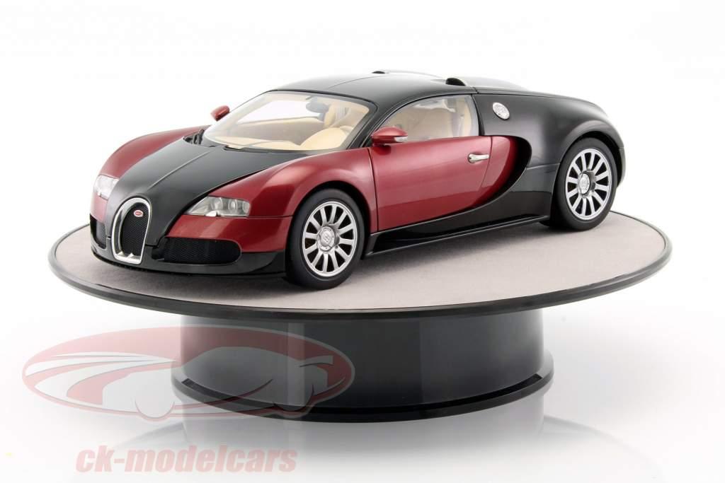 mesa giratória diâmetro ca. 25,5 cm para carros modelo em escala 1:18 prata AUTOart