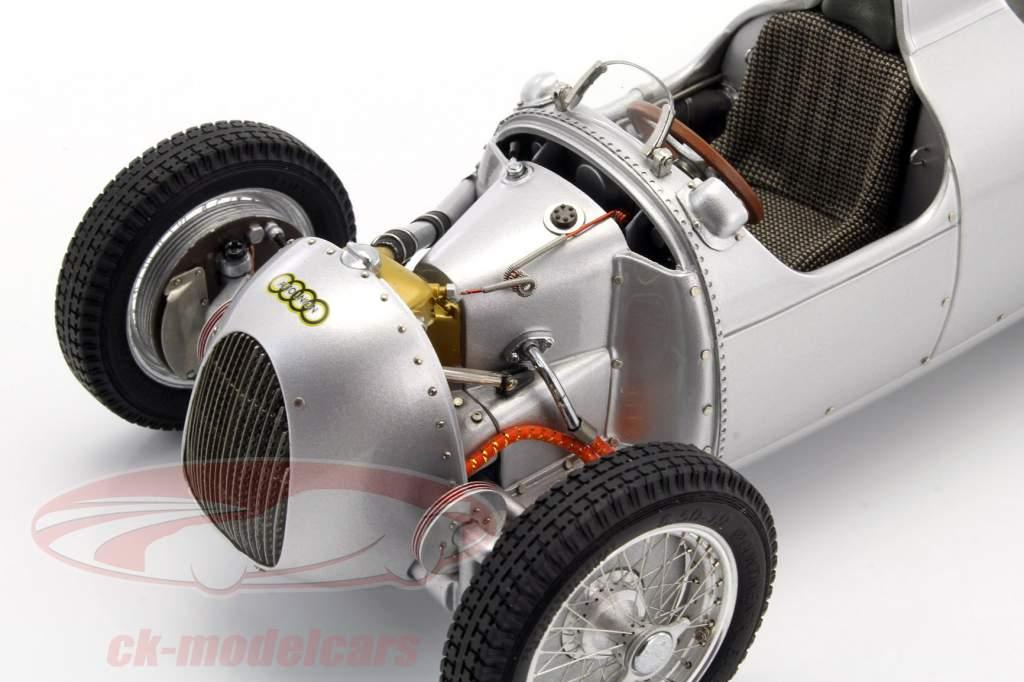 Auto Union Typ C año de construcción 1936/37 plata 1:18 CMC