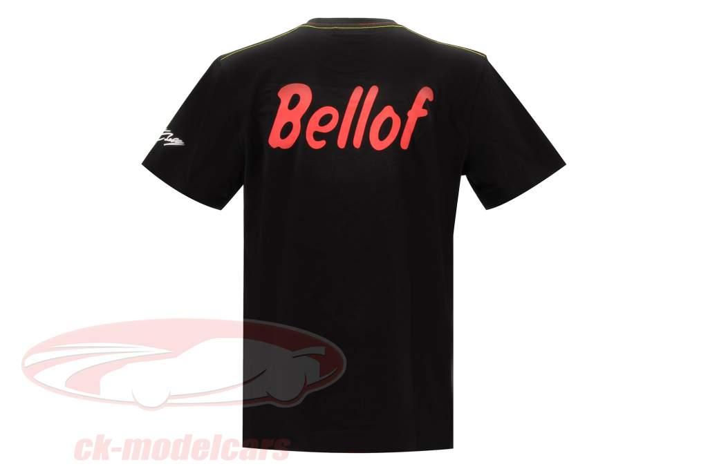 Stefan Bellof T-shirt casque Classic Line noir / rouge