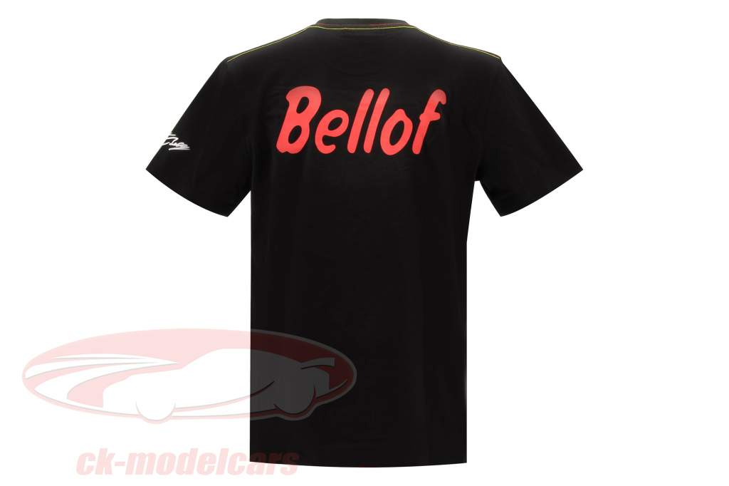 Stefan Bellof T-shirt helmet Classic Line black / red