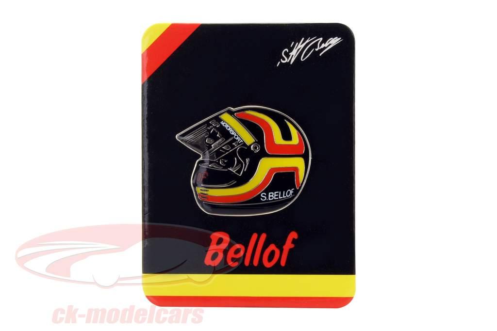 Stefan Bellof Pin helmet red / yellow / black