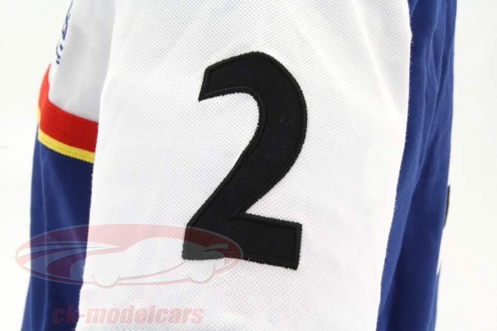 Stefan Bellof polo opnemen lap 6:11.13 min blauw / wit