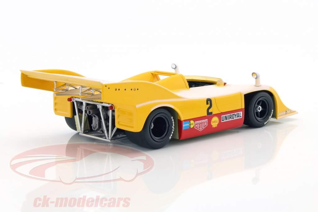 Porsche 917/10 #2 adieu en la neige Nürburgring 1973 Kauhsen / Heinemann 1:18 Minichamps