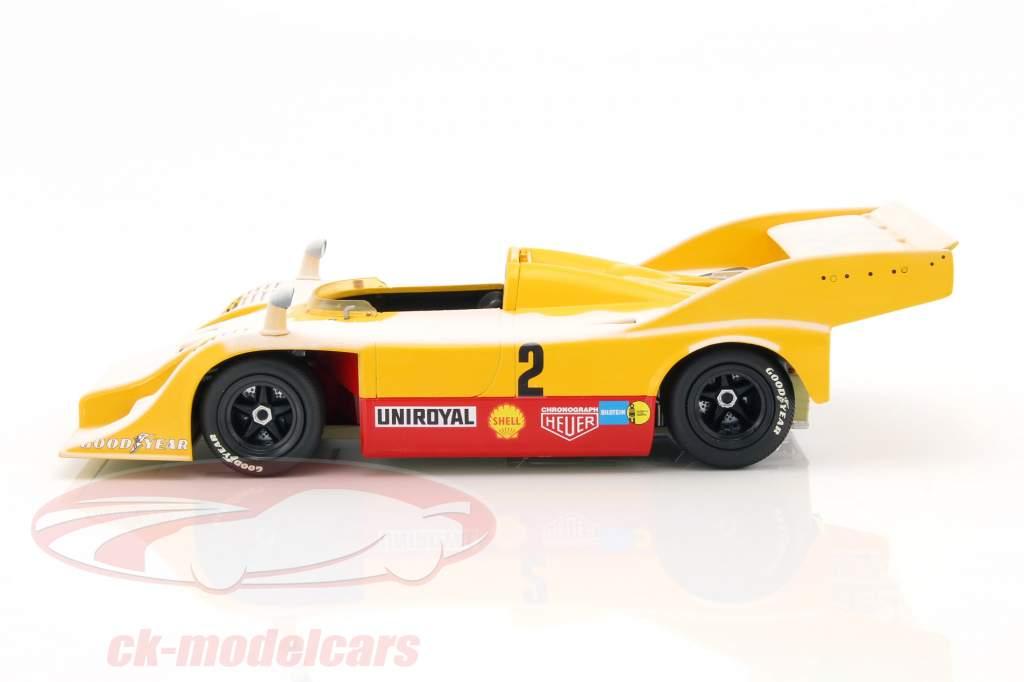 Porsche 917/10 #2 Farewell in the Snow Nürburgring 1973 Kauhsen / Heinemann 1:18 Minichamps