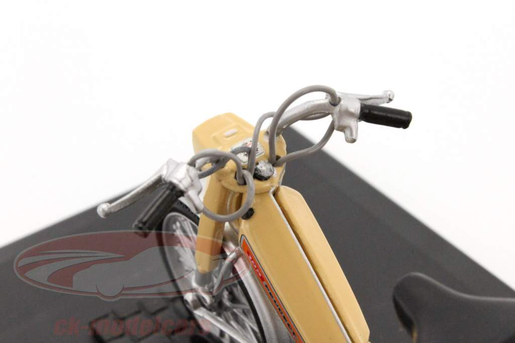 Peugeot 103 L jaar 1972 beige 1:18 Norev