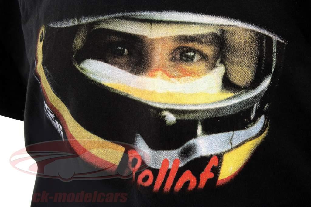 Stefan Bellof T-shirt helm Classic Line zwart / rood