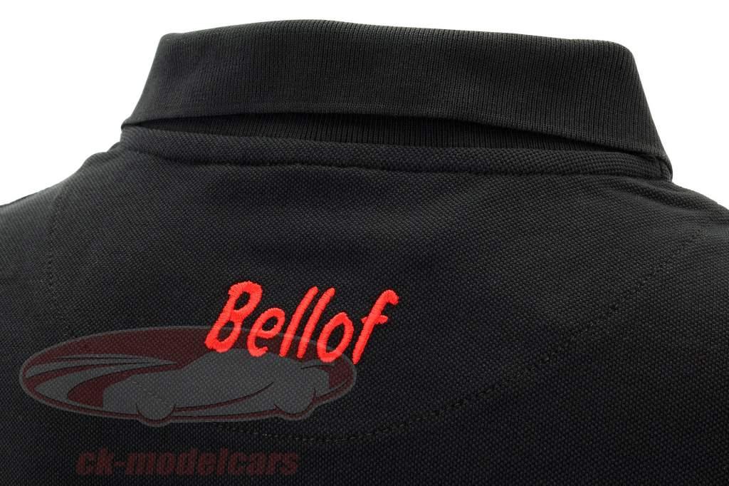 Stefan Bellof poloshirt hjelm Classic Line sort