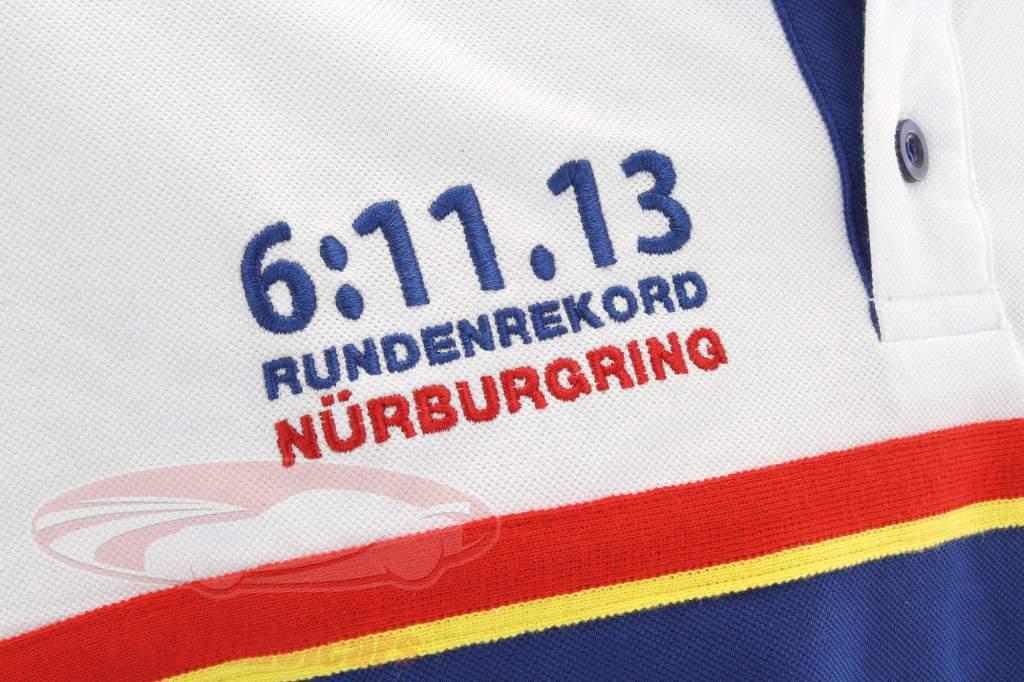 Stefan Bellof Polo colo recorde 6:11.13 min azul / branco
