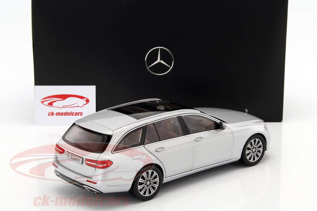 iScale 1:18 T-Modell Mercedes Benz E-Klasse EXCLUSIVE,iridiumsilber