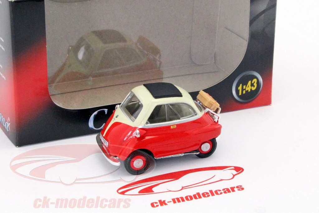 BMW Isetta 250 rood 1:43 Cararama
