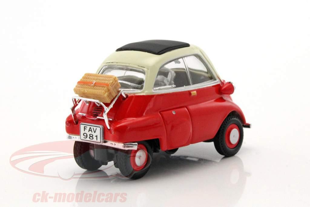 BMW Isetta 250 rosso 1:43 Cararama