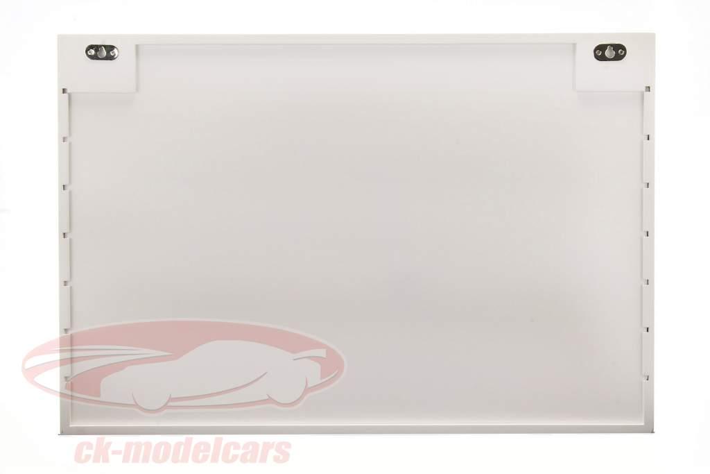 Houten vitrine Maxi 62 x 42 x 10 cm wit SAFE