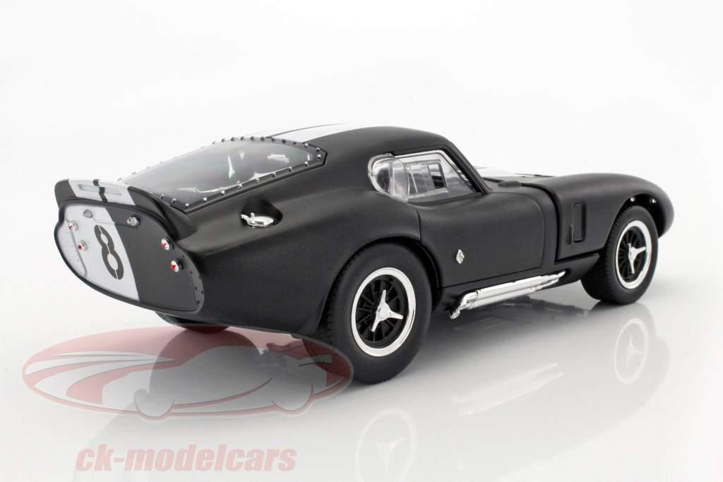 Shelby Cobra Daytona Coupe matt schwarz 1:43 Lucky Die Cast Modellauto