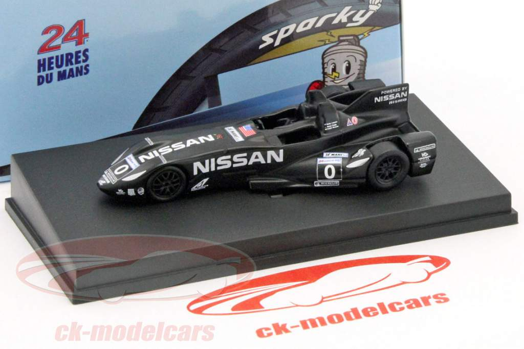 DeltaWing Nissan #0 24h LeMans 2012 Franchitti, Krumm, Motoyama 1:64 Spark
