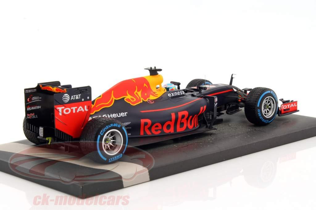 Daniel Ricciardo Red Bull RB12 #3 Brazil GP formula 1 2016 1:18 Minichamps