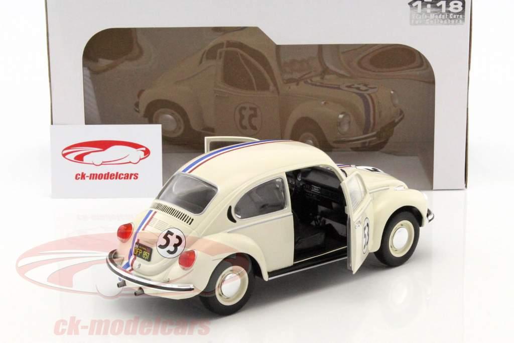 Volkswagen VW Käfer #53 Herbie crema 1:18 Solido