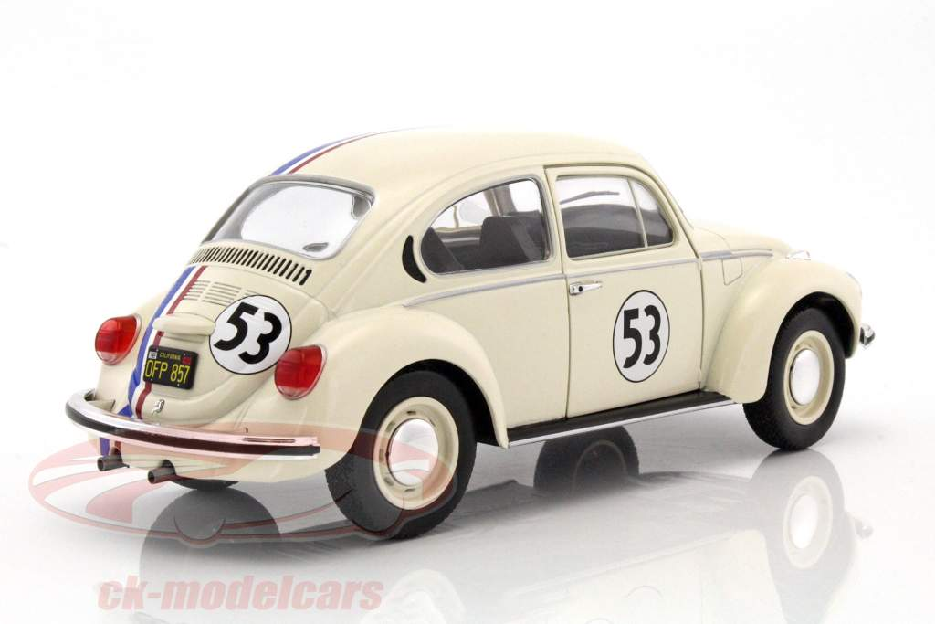 Volkswagen VW Käfer #53 Herbie crème 1:18 Solido