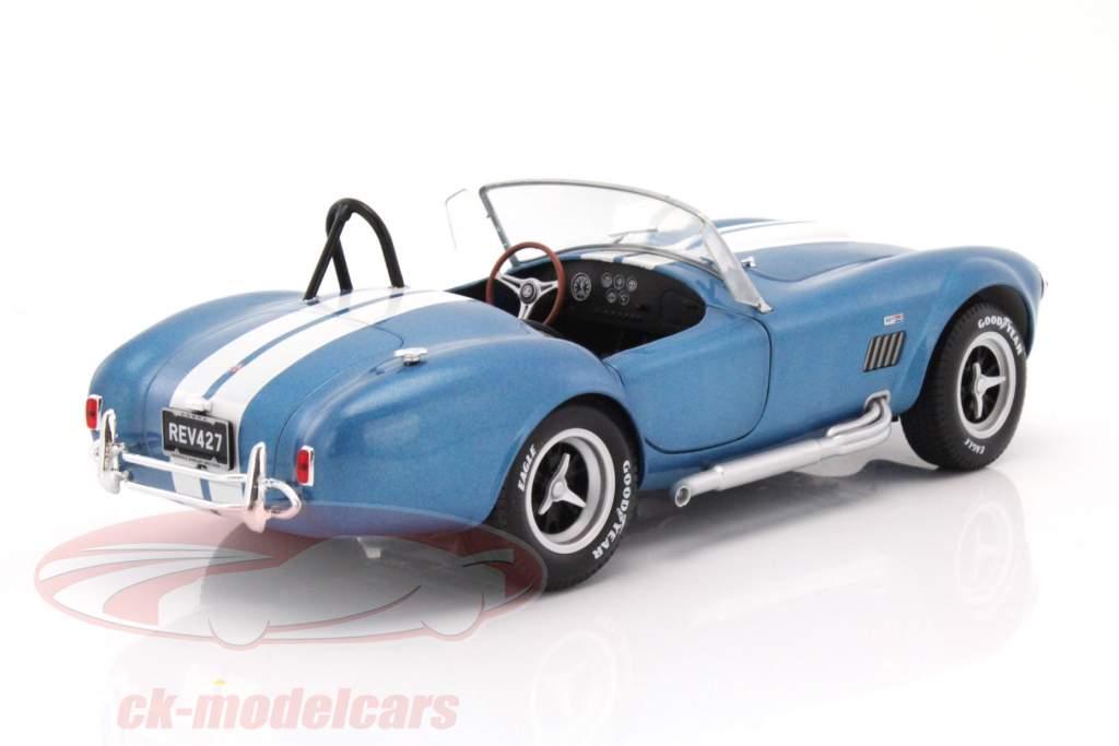AC Cobra 427 MKII año de construcción 1965 azul / blanco 1:18 Solido