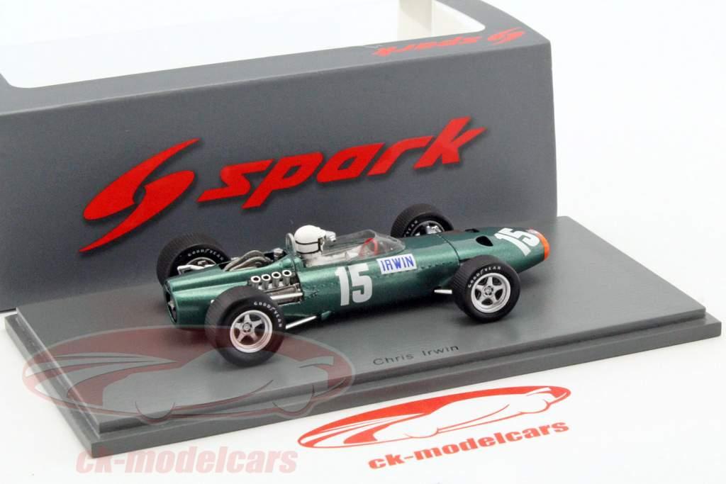 Chris Irwin BRM P61/2 #15 Großbritannien GP Formel 1 1967 1:43 Spark