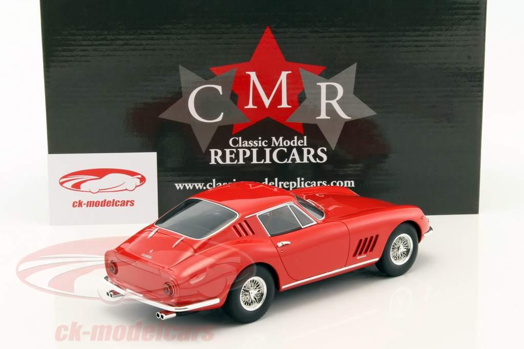 Ferrari 275 GTB vermelho 1:18 CMR