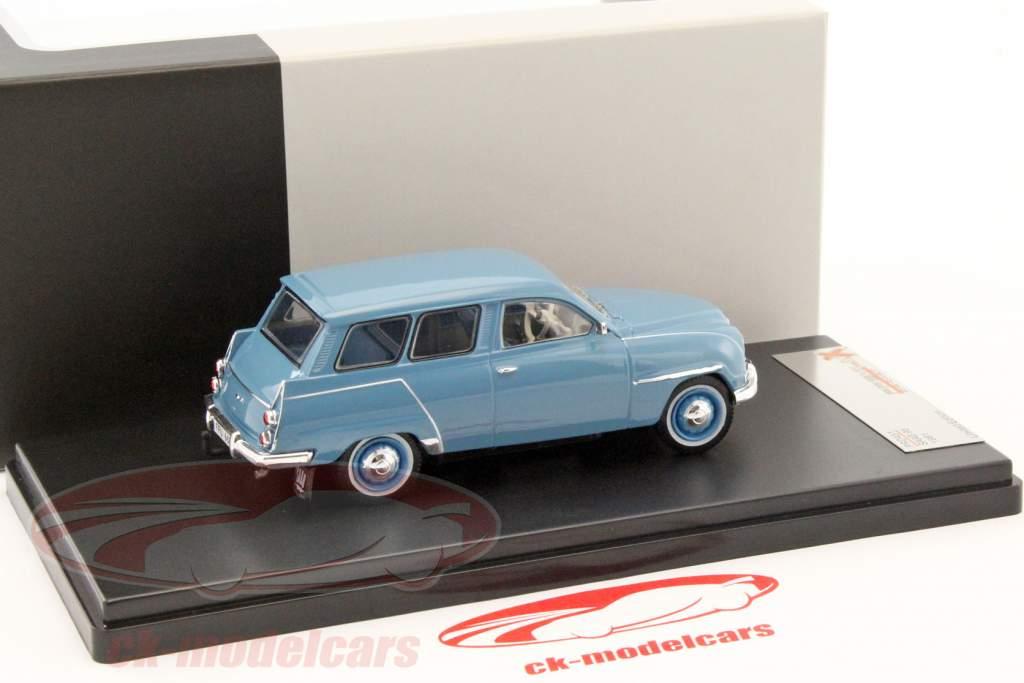 Saab 95 ano de construção 1961 azul 1:43 PremiumX