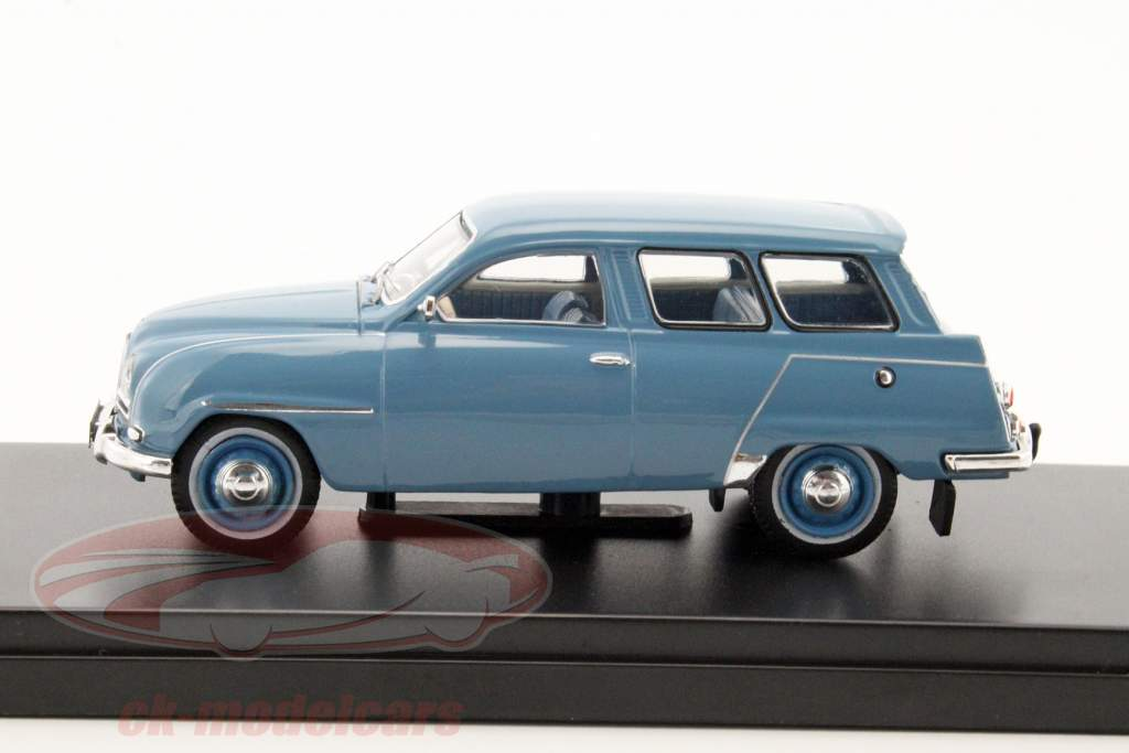Saab 95 año de construcción 1961 azul 1:43 PremiumX