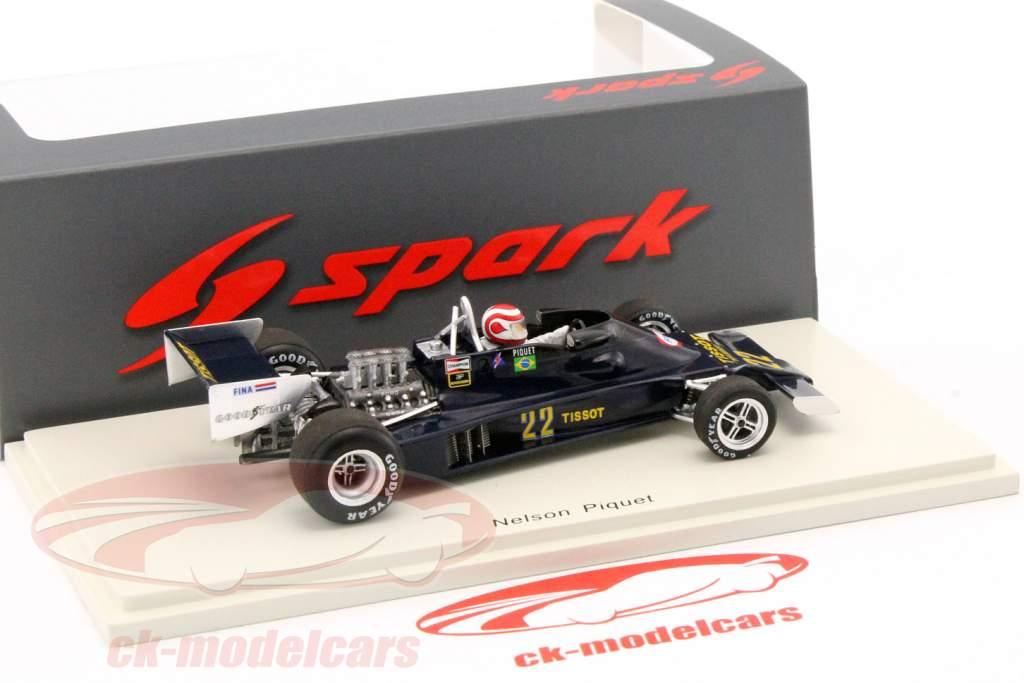 Nelson Piquet Ensign N177 #22 Germany GP formula 1 1978 1:43 Spark