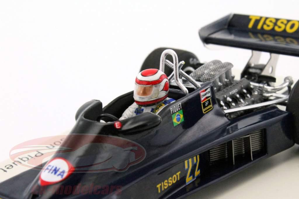 Nelson Piquet Ensign N177 #22 Alemania GP fórmula 1 1978 1:43 Spark