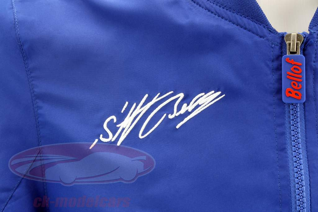 Stefan Bellof Racing bouffante veste bleu