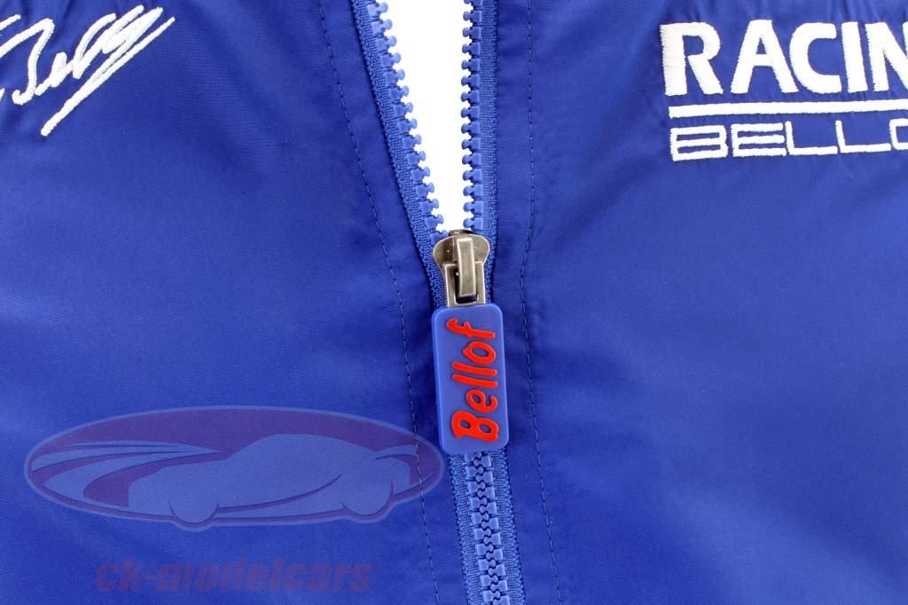 Stefan Bellof Racing Blouson Jacke blau