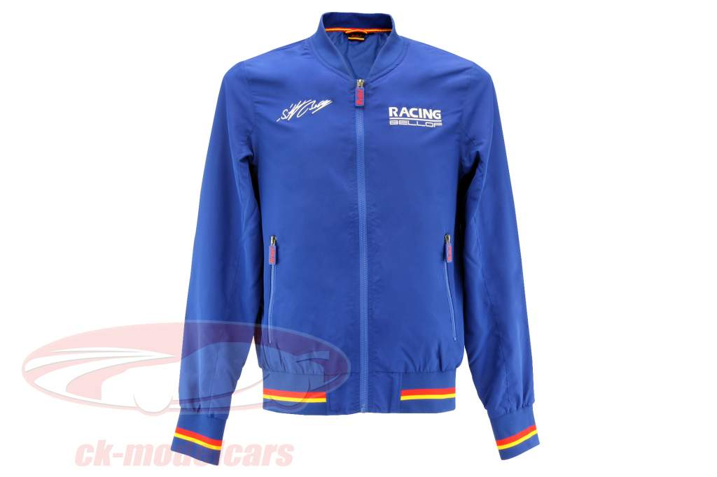 Stefan Bellof Racing blouson jaqueta azul