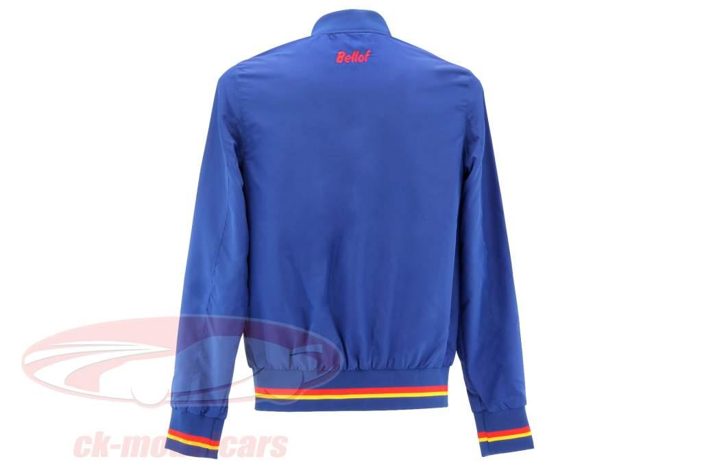 Stefan Bellof Racing blusón chaqueta azul