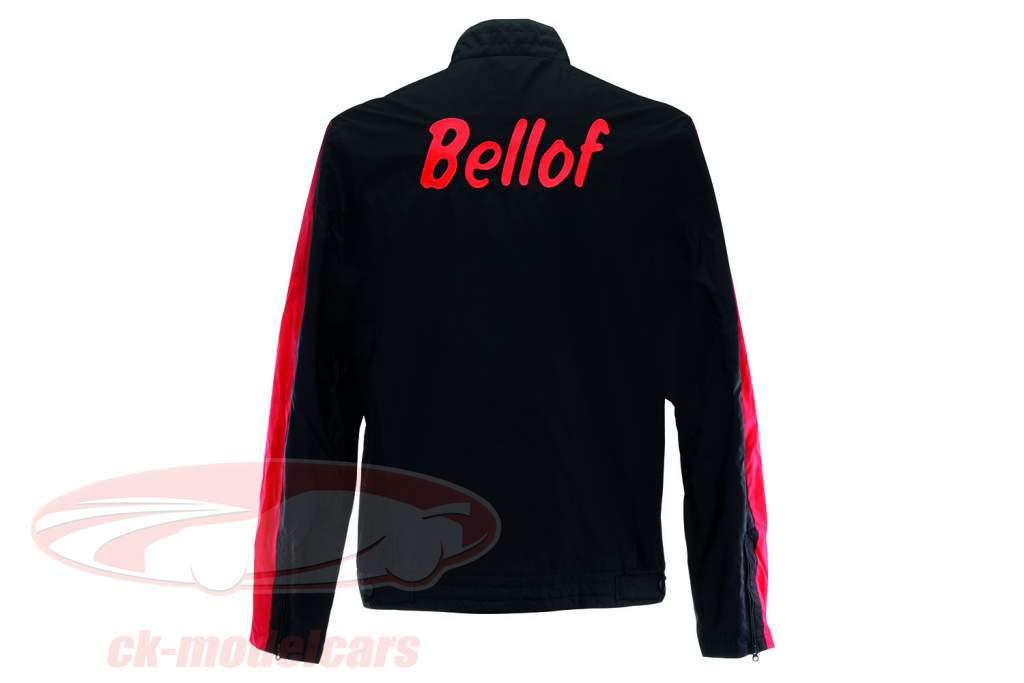 Stefan Bellof Racing jakke hjelm sort / rød / gul
