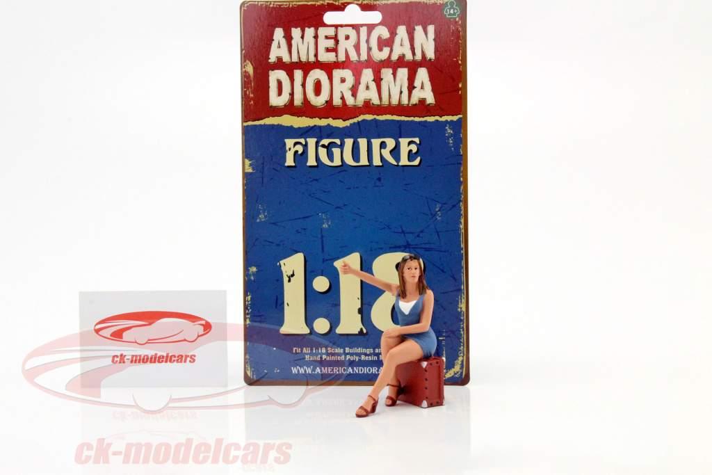 70er Jahre figuur VI 1:18 American Diorama