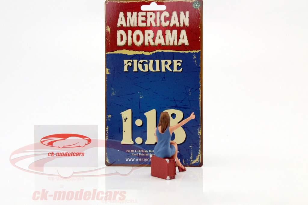 70er Jahre Figur VI 1:18 American Diorama