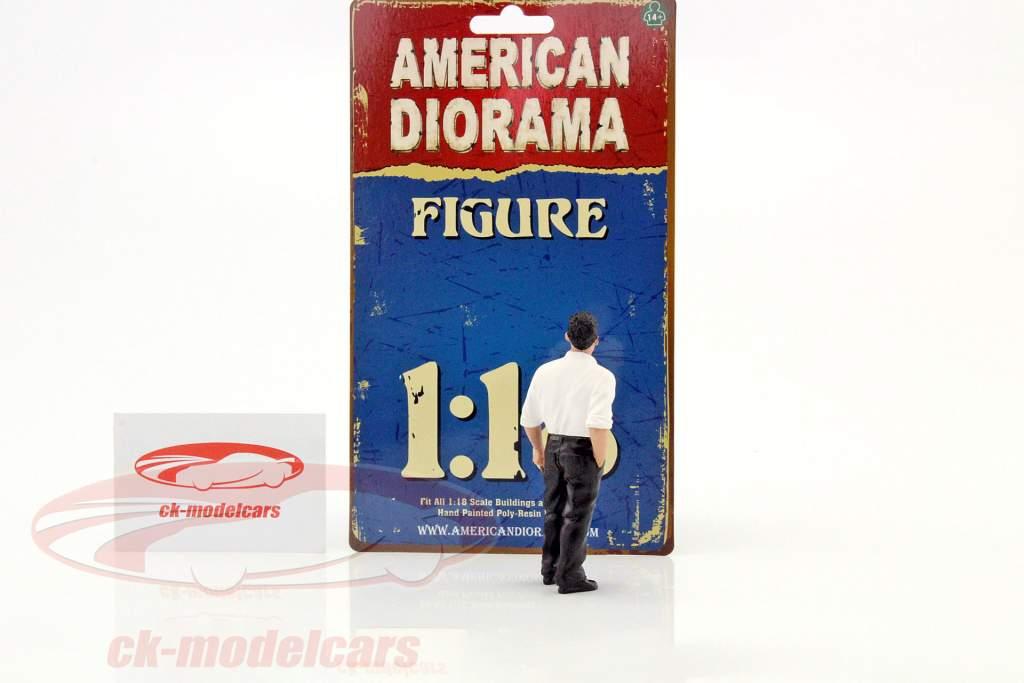 70er Jahre figuur III 1:18 American Diorama