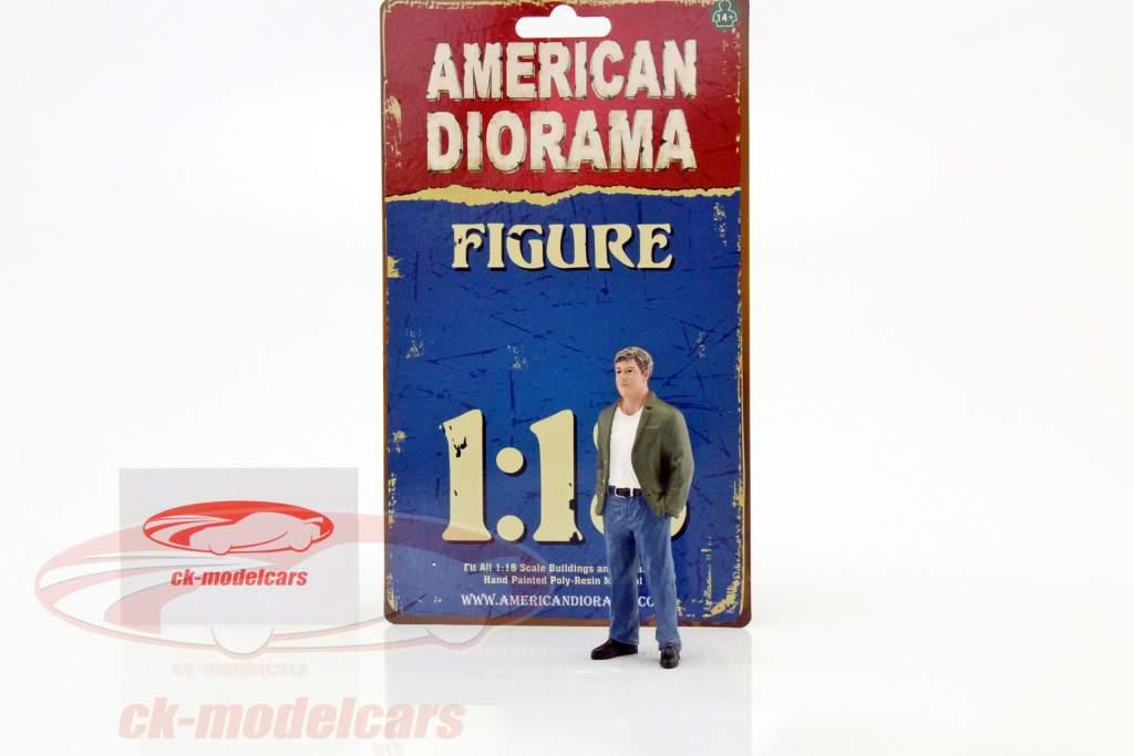 70er Jahre figura VII 1:18 American Diorama