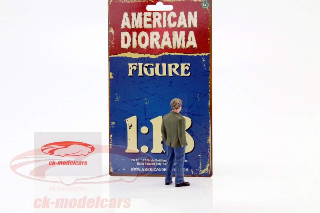 70er Jahre figur VII 1:18 American Diorama