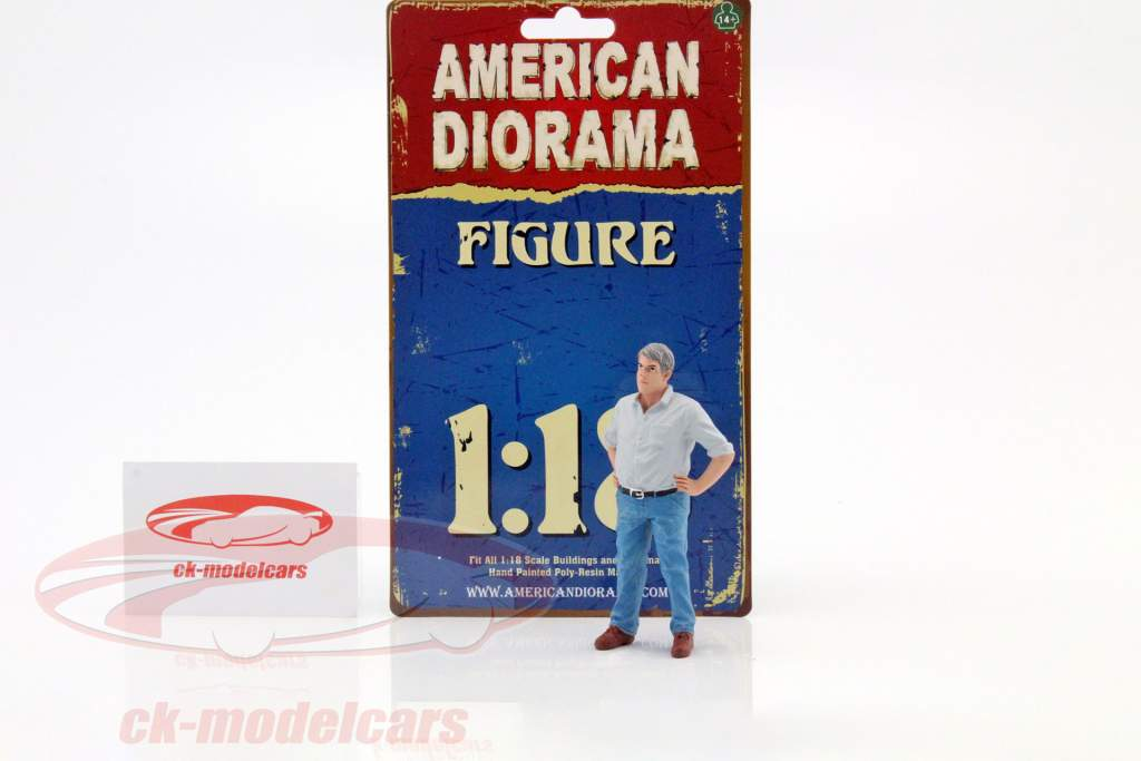 70er Jahre figur V 1:18 American Diorama