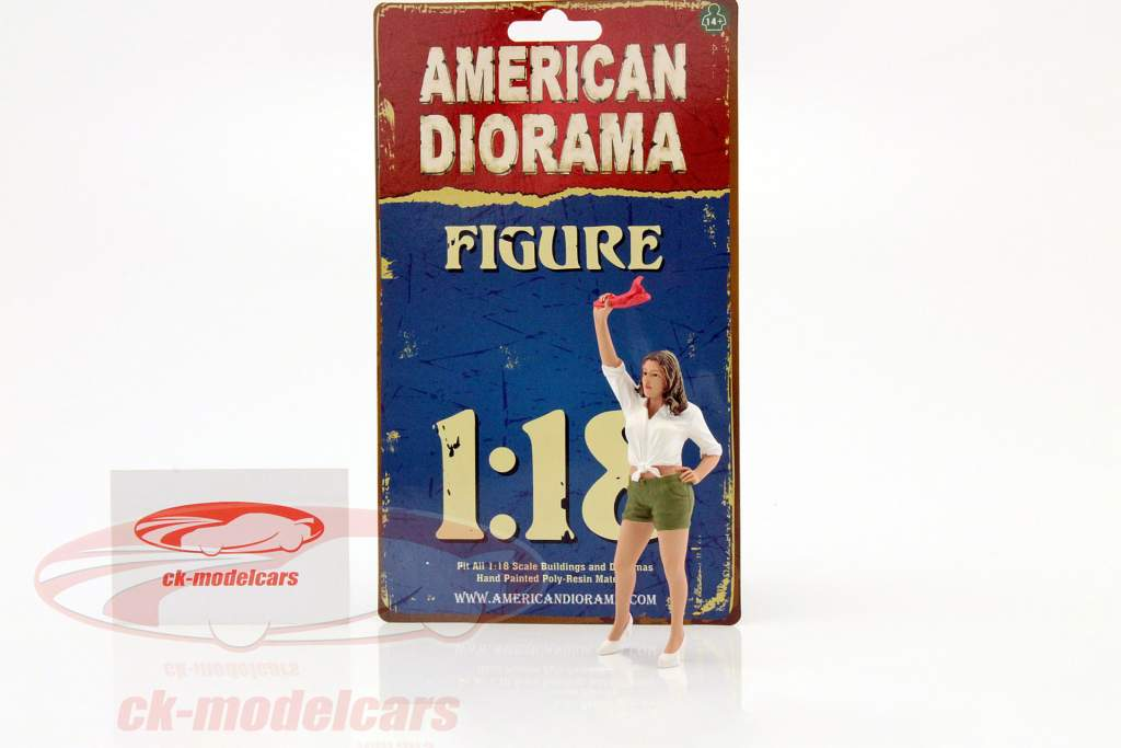 70er Jahre figure II 1:18 American Diorama