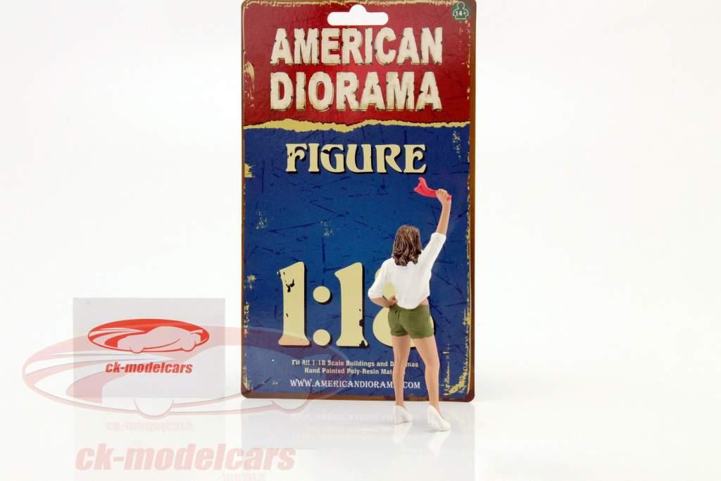 70er Jahre figuur II 1:18 American Diorama