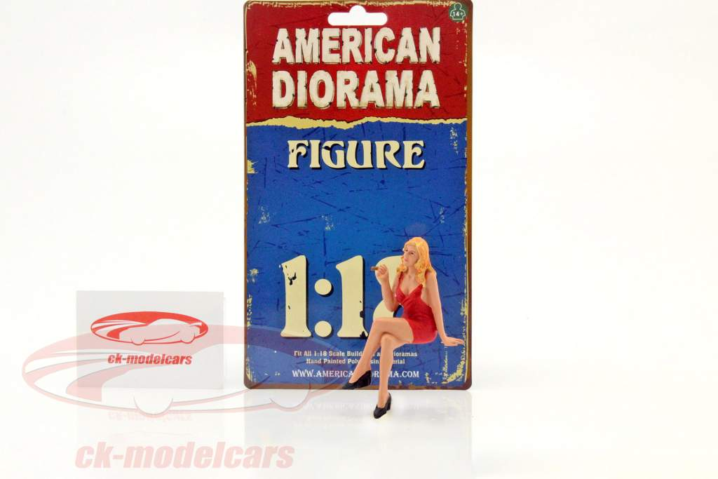 70er Jahre figure IV 1:18 American Diorama