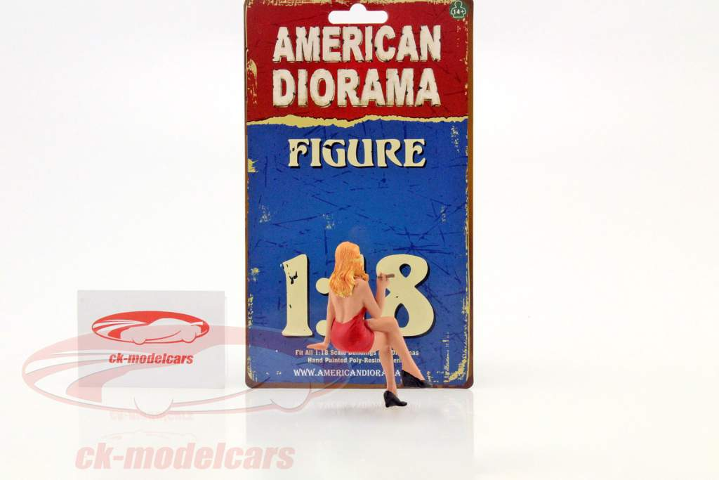 70er Jahre Figur IV 1:18 American Diorama