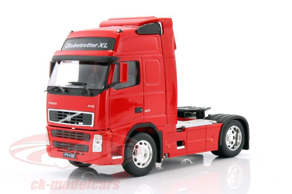 Volvo FH12 Globetrotter XL vermelho 1:32 Welly