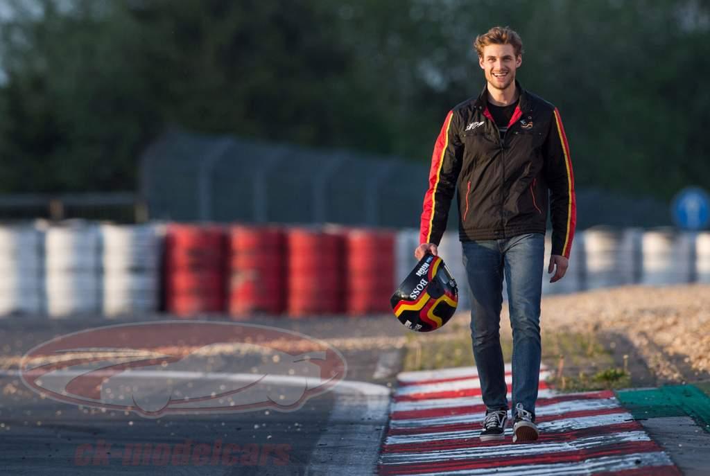 Stefan Bellof Racing giacca casco nero / rosso / giallo